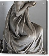 Famiglia Meretti Grave Marker Monumental Cemetery Milan Italy Acrylic Print