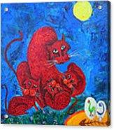 Family Cat Acrylic Print