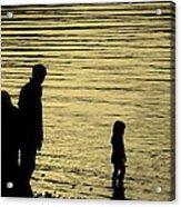 Family Paddle Acrylic Print