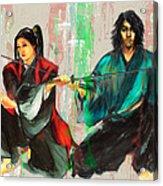Family Samurai  Acrylic Print