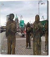 Famine Monument Dublin Ireland Acrylic Print