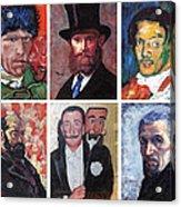 Famous Artist Self Portraits Acrylic Print