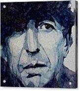 Famous Blue Raincoat Acrylic Print