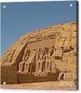 Famous Egyptian Landmarks Acrylic Print
