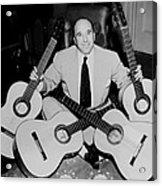 Famous Guitarist Carlos Montoya 1953 Acrylic Print