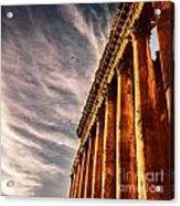 Famous Jupiter Columns Acrylic Print