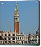 Famous Venice Italy Acrylic Print