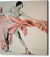 Fan Dancer 2 Acrylic Print
