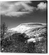 Fan Fawr Brecon Beacons 1 Mono Acrylic Print