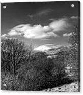 Fan Fawr Brecon Beacons 2 Mono Acrylic Print