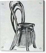 Fanback Parlor Chair Acrylic Print
