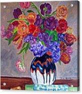 Fanciful Bouquet Acrylic Print