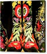 Fancy Boots Acrylic Print