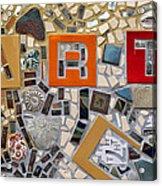 Fancy Mosaic Acrylic Print