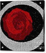 Fancy Rose Acrylic Print