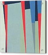 Fanfare, 1974 Acrylic On Gouache And Pencil Acrylic Print