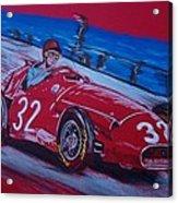 Fangio At Monaco 57 Acrylic Print