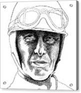 Fangio Acrylic Print