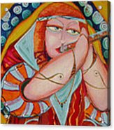 Fantacy Flute Acrylic Print