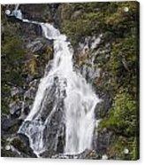 Fantail Waterfalls Acrylic Print