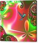 Fantasia Landscape Acrylic Print