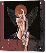 Fantasy Angel Acrylic Print