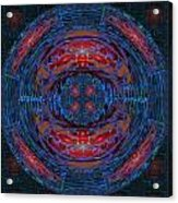 Fantasy Art Future Cosmic Discoveries Biological Planets N Galaxies Recreating N Multiplying Backgro Acrylic Print