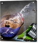 Fantasy Bulb Acrylic Print