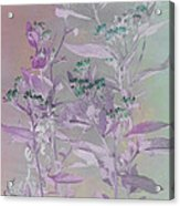 Fantasy By The Pond Acrylic Print