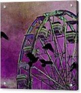 Fantasy Ferris-wheel Acrylic Print