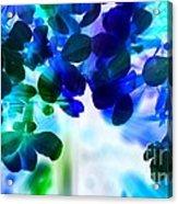 Fantasy Florals Acrylic Print
