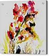 Fantasy Flowers 3 Acrylic Print
