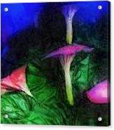 Fantasy Flowers Lux Acrylic Print