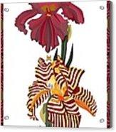 Fantasy Iris July 2013 Acrylic Print