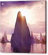 Fantasy Islands Acrylic Print