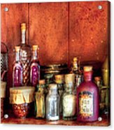 Fantasy - Wizard's Ingredients Acrylic Print by Mike Savad