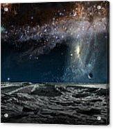 Far Future Earth Acrylic Print