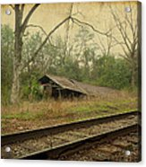 Far Side Of The Tracks Acrylic Print