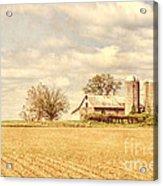 Farm And Fields  Acrylic Print