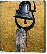 Farm Bell Acrylic Print