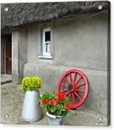 Farm Cottage Acrylic Print