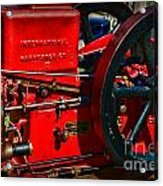 Farm Equipment - International Harvester Feed And Cob Mill Acrylic Print