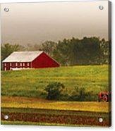 Farm - Farmer - Tilling The Fields Acrylic Print