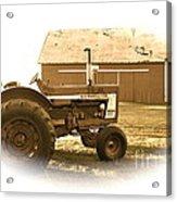 Farm Heritage Vignette  Acrylic Print