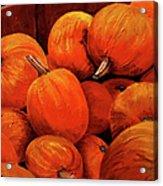 Farm Market Pumpkins Acrylic Print