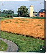 Farm Nr Mountville Lancaster Co Pa Usa Acrylic Print