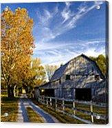 Farm Road Acrylic Print