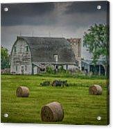 Farm Scene Acrylic Print