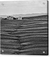 Farm Sienna Acrylic Print by Hugh Smith