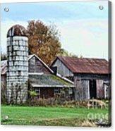 Farm - The Old Barn Acrylic Print